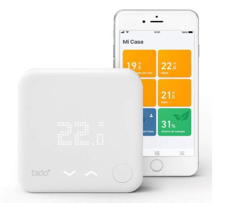 imagen de termostato inteligente tado