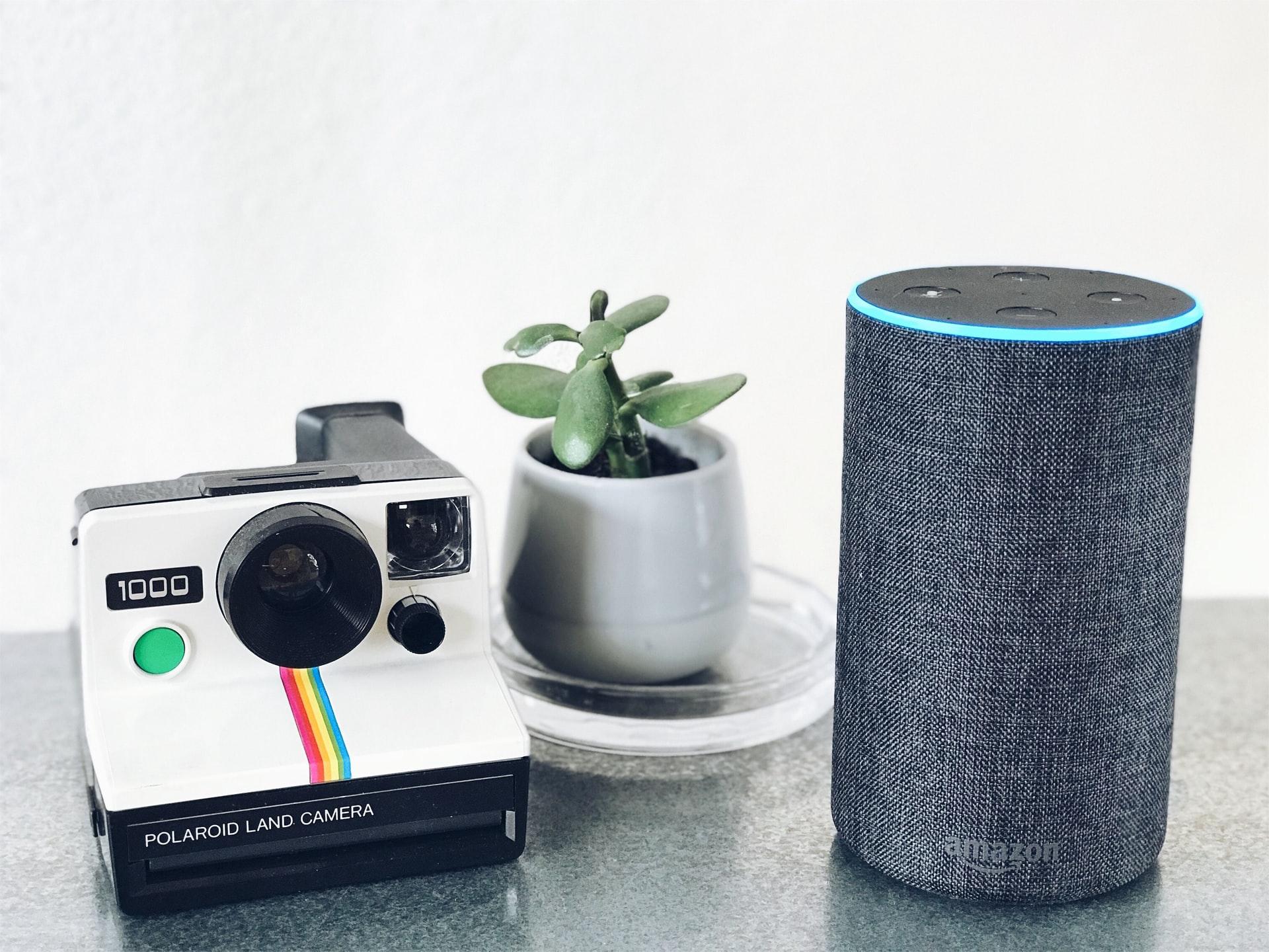 imagen de altavoces inteligentes de Amazon