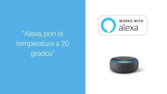 Alexa Echo temperatura
