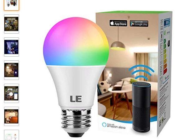 Bombilla LED inteligente LE