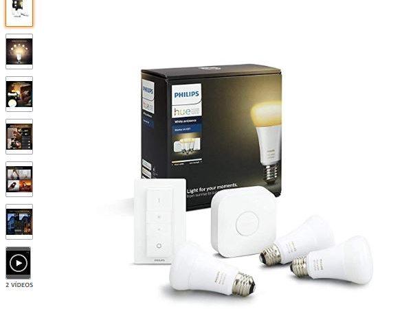 Bombillas inteligentes LED  Philips