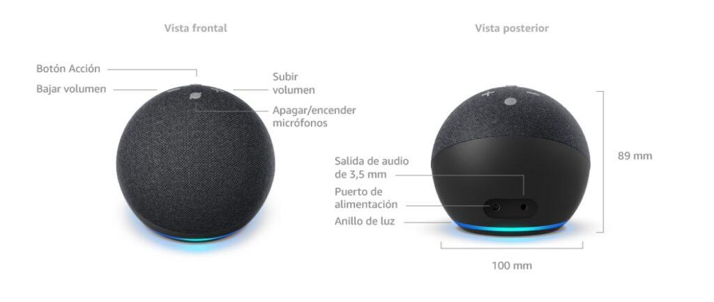 Echo Dot 4 Amazon caracteristicas